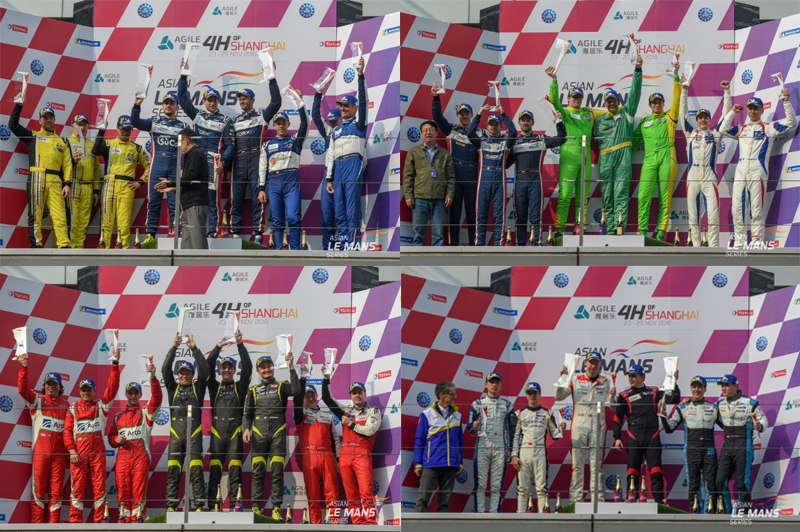 asian le mans series winners