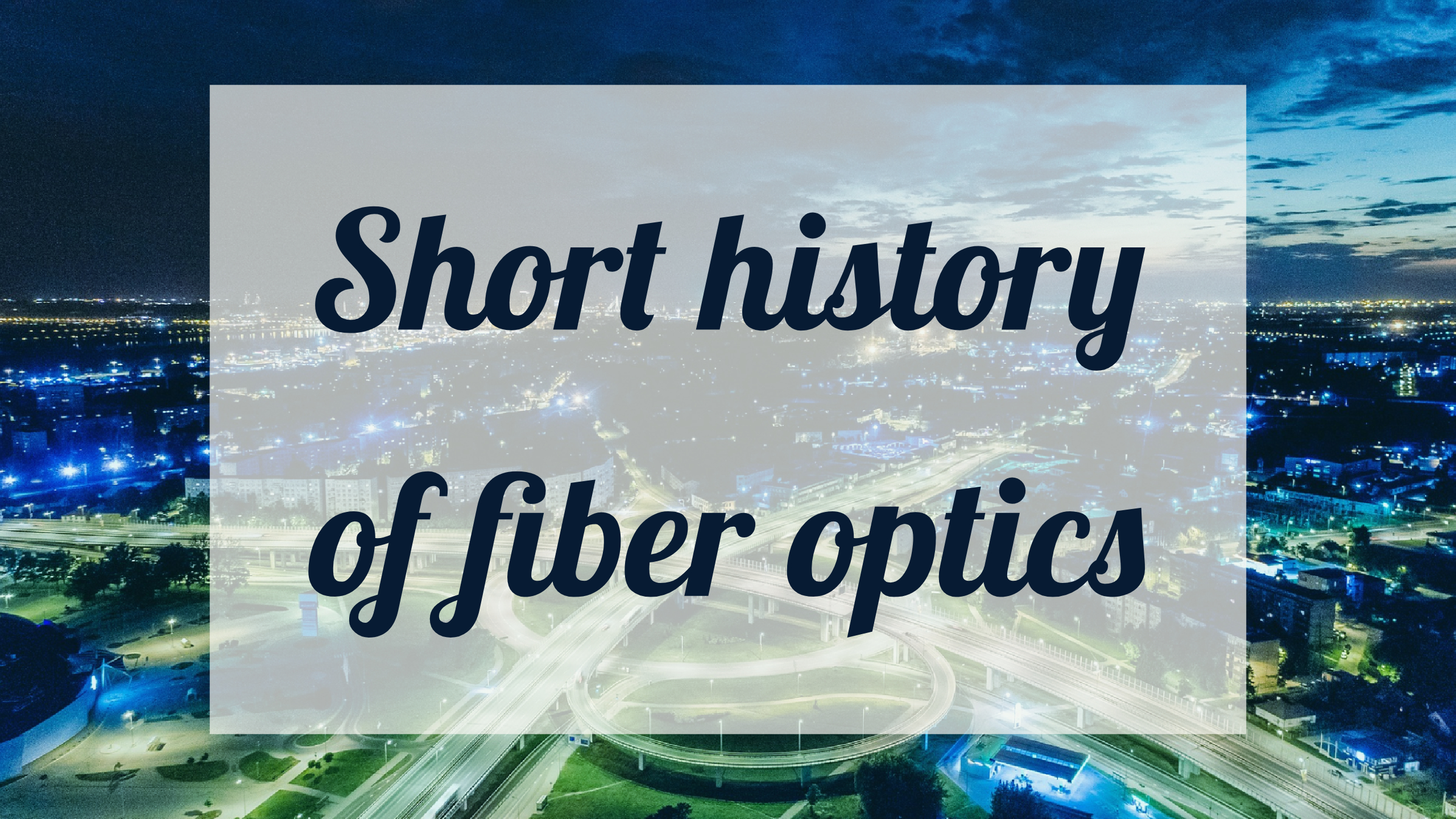 History Of Fiber Optics From Romans Until Today By Peakoptical Diagram Optic Technology And Its Role In The